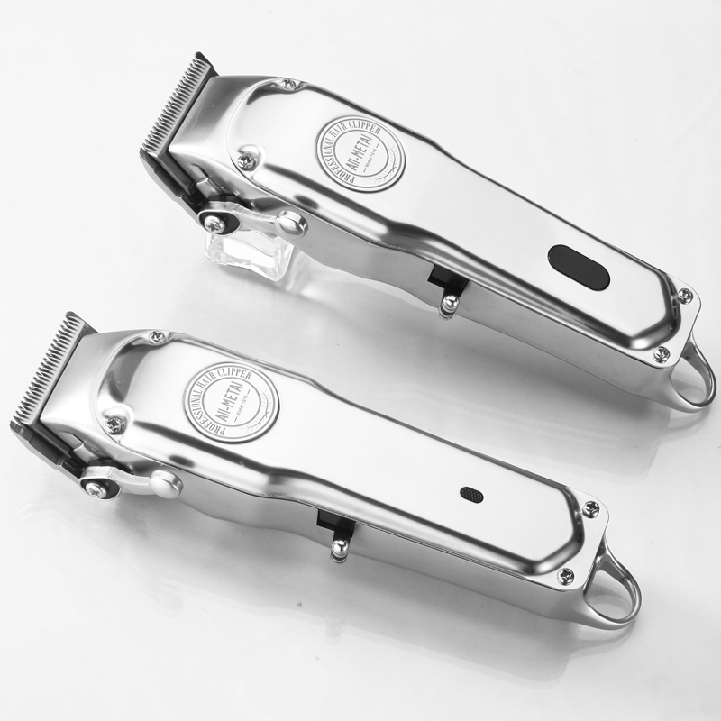 1919 Model All-metal Rechargeable Hair Clipper With Guide Comb Set 6500 Motor And  Barber Cordless Hair Trimmer