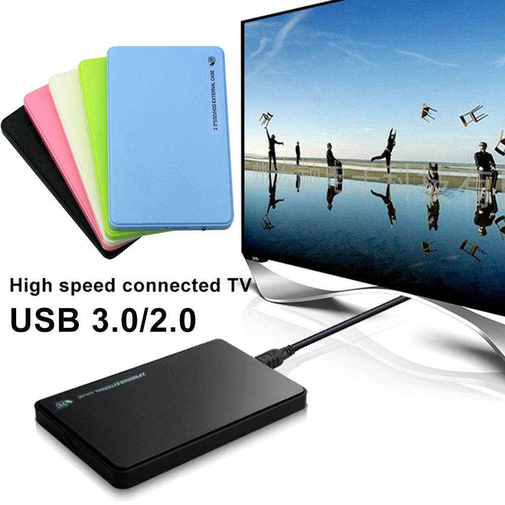 USB 3.0/2.0 2.5inch SATA External HDD SSD Mobile Hard Disk Drive Case Box For PC