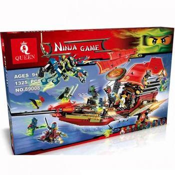 06020 Lepining  1325pcs ninja final fight of destiny's bounty 9 figures building blocks bricks 70738 Bricks Toys kids gifts 2