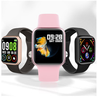 P90 Smart Watch Heart Rate Blood Pressure IP68 Waterproof Wireless Charging Smartwatch Sports Fitness Tracker for Apple Samsung
