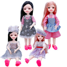 Toy Doll-Girl Movable-Joint-Doll Body-Dress Play-House Children Fashion 20 30cm Christmas-Gift