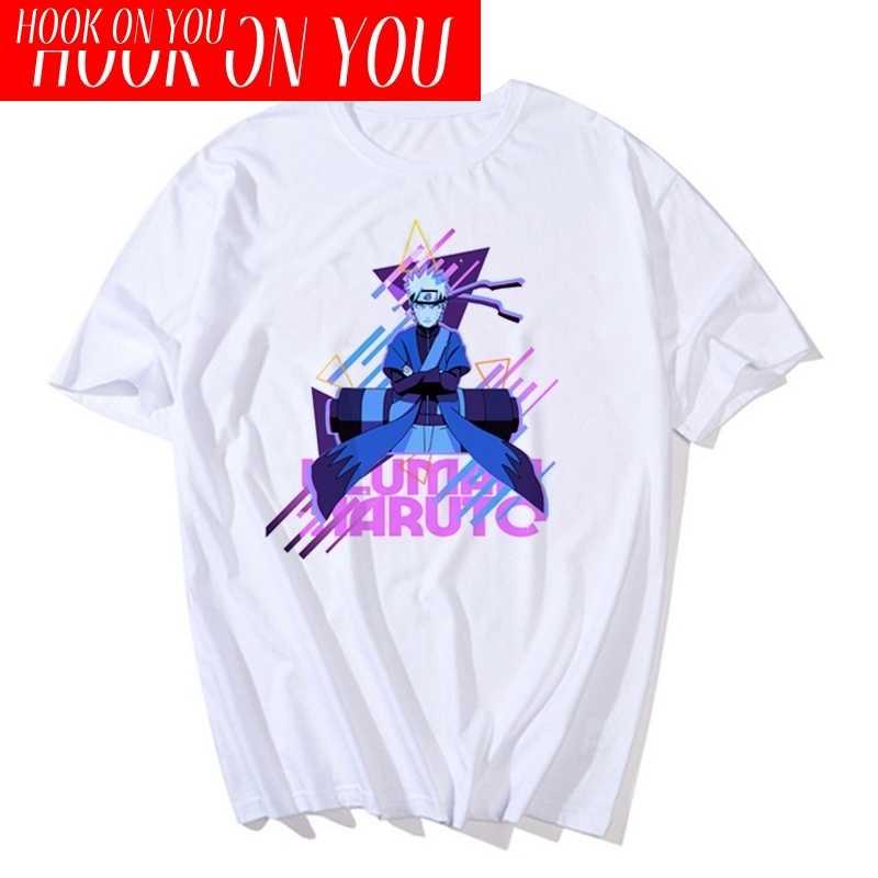 ナルト男性の tシャツ 2020 夏クールユニセックスうちはイタチアニメおかしい印刷半袖 tシャツストリート tシャツ