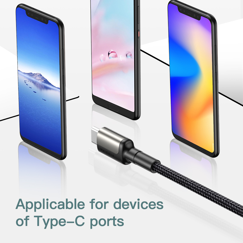 KUULAA 5A USB Type C Cable for Huawei Mate 20 Pro P20 Lite Supercharge USB C Fast Charging Cable Type-C Cable for Huawei P30 Pro 4