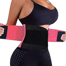 Tummy Shapewear Belt Corset Cincher Waist-Trainer Slimming-Trimmer Neoprene Woman 9-Steel