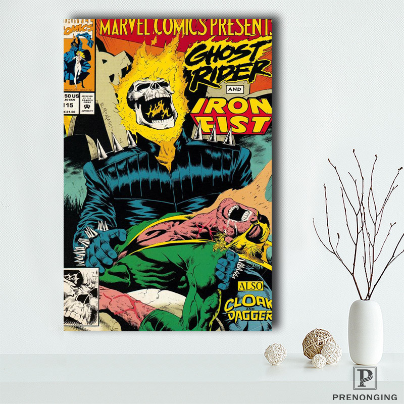 Canvas Poster Silk Fabric Wolverine Marvel Comics Custom Paper HD Pictures and Printings@190418-27 image