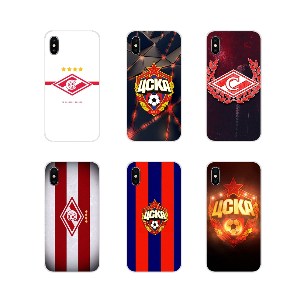 Accessories Phone Cases Covers For Huawei Mate Honor 4C 5C 5X 6X 7 7A 7C 8 9 10 8C 8X 20 Lite Pro Russian Moscow football