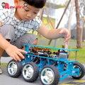 Внедорожный робот-автомобиль 6WD с камерой для Arduino UNO  набор для самостоятельной сборки  робот для программирования  интеллектуального образ...