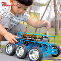 Creative 6WD Off-Road Robot Car With Camera For Arduino UNO DIY Kit Robot For Programming Intelligent Education And Learning