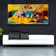 Abstract Art Flower Oil Painting Silk Canvas Poster Wall Decor A402 Unframed