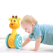 Baby Rattles Baby Toys 0 6 12 Months Developmental Kids Toys Cute Bell Newborns Infant Educational Toys 0 Tumbler Rattle for Kid