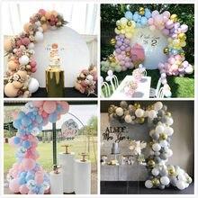 Palloncini Kit arco ghirlanda cromo coriandoli oro rosa palloncino 4D matrimonio compleanno casa decorazioni per feste per bambini Baby Shower Globos