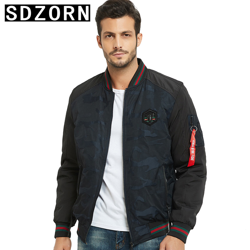 Mens Fashion Jacket Warm Padded Parka for Men Stand Collar Jackets 2019 New Fall Winter Outwear