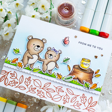 Sweet Bears Clear Stamps Bring Honey&Bear Hugs&Blessings To You For DIY Card Making Kids Clear Transparent Silicone Stamp 2019 jillian hart sweet blessings