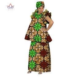 Африканская юбка наборы для Женщин Дашики элегантная африканская одежда короткий топ и юбка наборы традиционная африканская одежда WY073