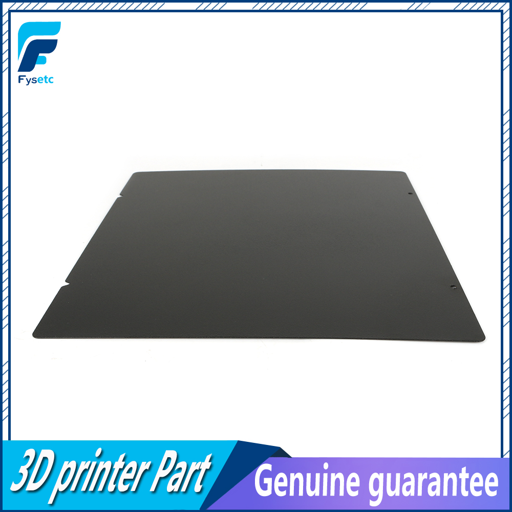 220 235 300mm MK52 Double Sided Textured PEI Spring Steel Sheet Powder Coated PEI For Prusa i3 mk3 MK3S Ender-3 Anet A8 Wanhao