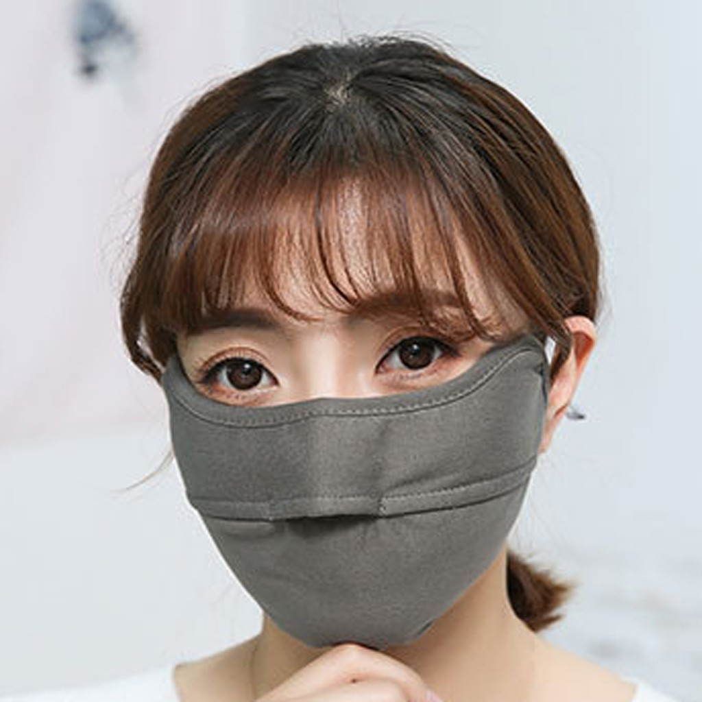 Fashion Couple Seamless Outdoor Riding Quick-drying Dustproof Keep Warm Mask