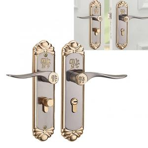 Image 2 - Blokada inteligentny zamek do drzwi europejski trwały uchwyt wewnętrzny cylinder zamka drzwi z kluczami blokada klamki