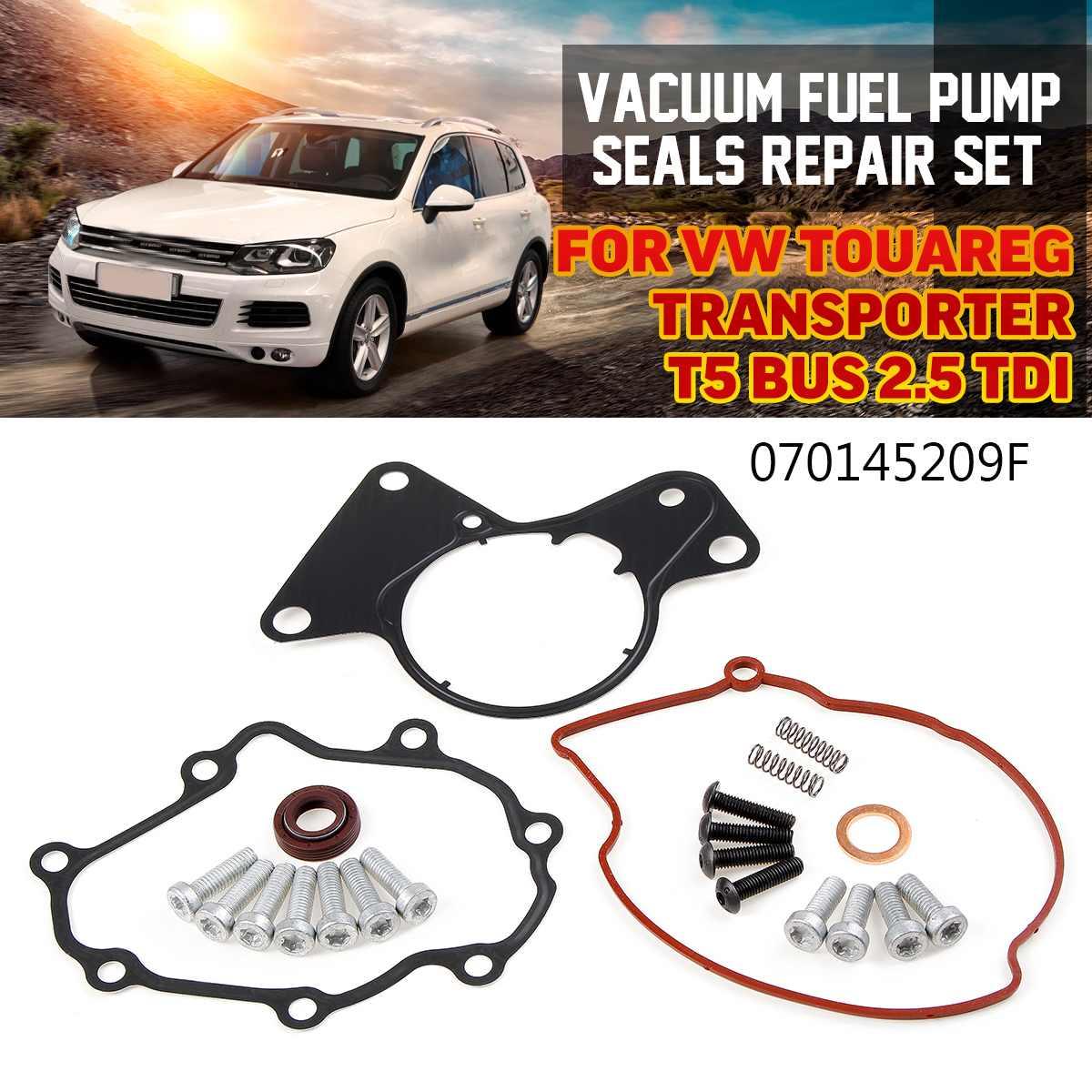 Vacuum Fuel Pump Seals Repair Set For VW Touareg Transporter T5 Transporter 2.5 TDI 070145209F 070145209H 070145209J