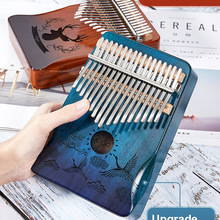 Musical-Instrument Piano-Mbira Mahogany 30key-Machine Kalimba Africa-Finger-Piano Thumb