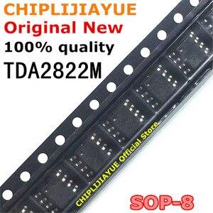 10PCS TDA2822M SOP8 TDA2822 TDA2822D 2822 SOP-8 SOP SMD new and original IC Chipset