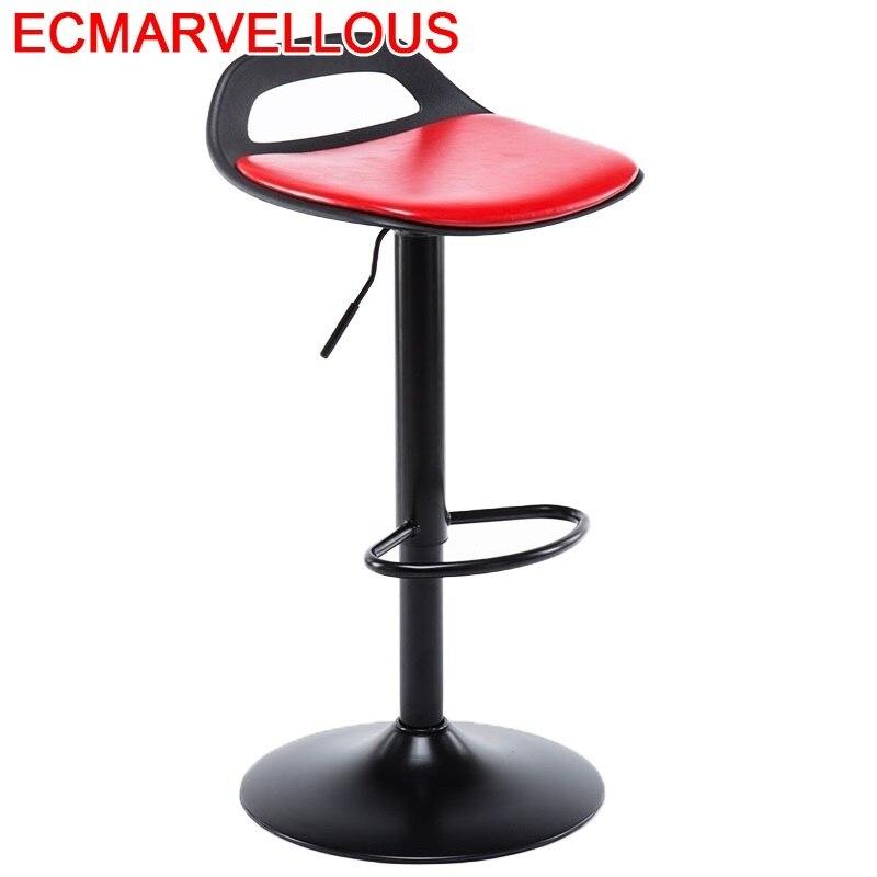 Barra Silla Sandalyesi Banqueta Todos Tipos Taburete Bancos Moderno Leather Cadeira Tabouret De Moderne Stool Modern Bar Chair