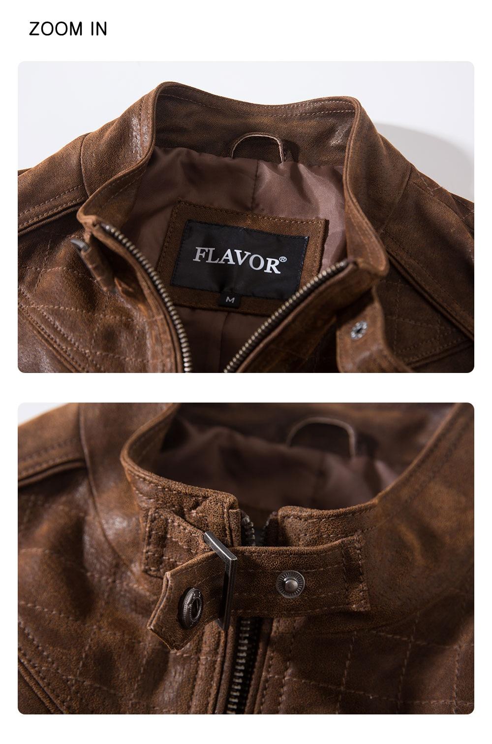 Hd0bfbc102cfc4821a2de4937911607bcB Men's Pigskin Real Leather Jacket Genuine Leather Jackets Motorcycle Jacket Coat Men