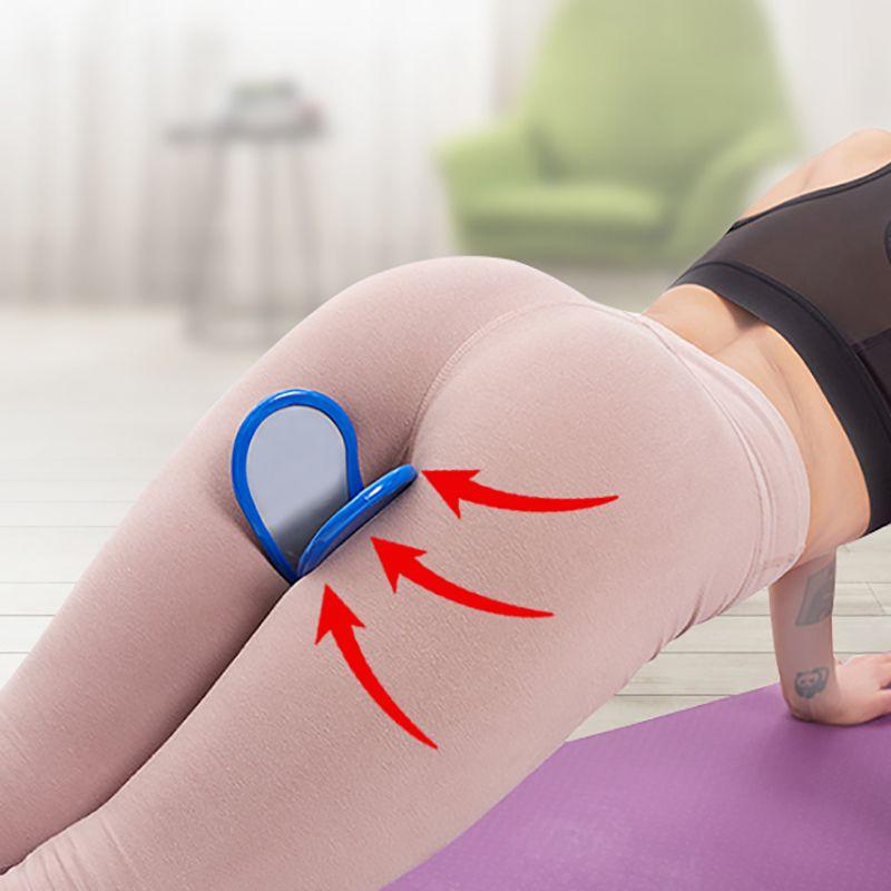 Hip Trainer Pelvic Floor Muscle Inner Thigh Buttocks Exerciser Bodybuilding Home Fitness Beauty Equipment