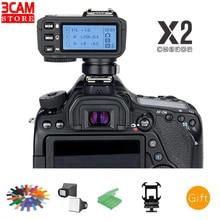 Беспроводной триггер вспышки Godox X2T TTL с поддержкой Bluetooth передатчика для Nikon Canon Sony Fujifilm Olympus Panasonic