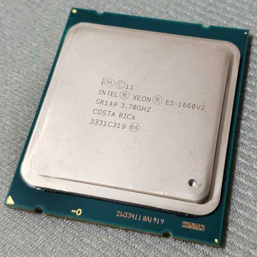 Intel Xeon E5-1660V2 E5 1660 V2 E5 1660V2 CPU E5-1660 V2 3.70GHz 6-Core 15MB LGA2011 130W suitable X79 motherboard image