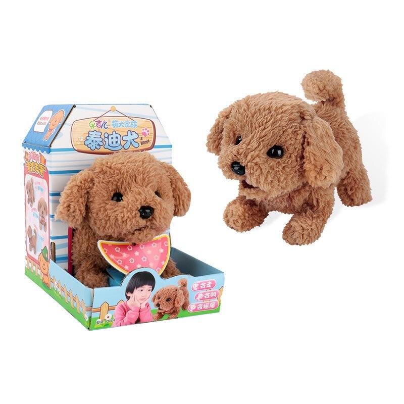 Bonito Pequinês Cão Brinquedos Interativos Eletrônicos Brinquedos Husky Para K