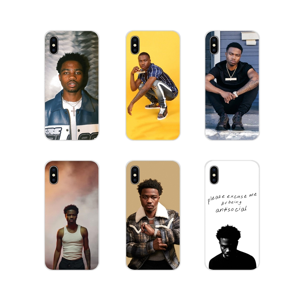 Roddy Ricch Accessories Phone Shell Covers For Apple iPhone X XR XS 11Pro MAX 4S 5S 5C SE 6S 7 8 Plus ipod touch 5 6