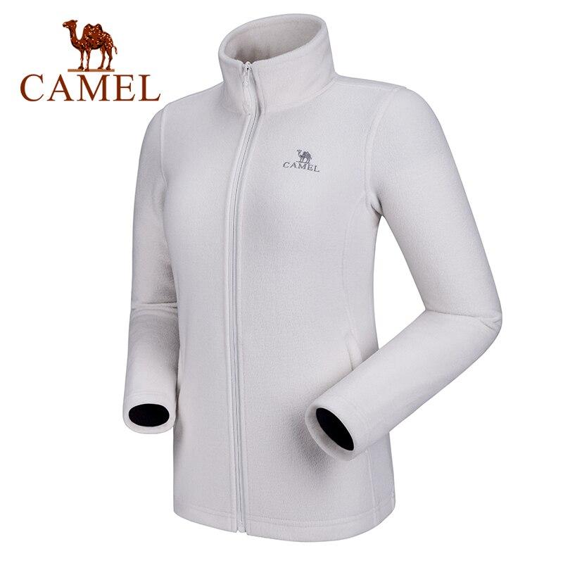 Jaqueta de lã Térmica à Prova de Vento Roupas ao ar Camelo Inverno Masculina Softshell Cabolsa Casual Livre 2020