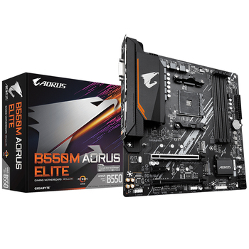 B550M AORUS ELITE motherboard +R5 3500X/R5 3600X/R7 3700X/R7 3800X/R9 3900X CPU motherboard+CPU set