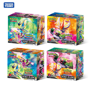 Card Toys 360pcs Pokemon Cards Box TCG: Sun & Moon Sword shield Unified Minds Cosmic Eclipse Random Box Pokemon Cards V GX Tag 1