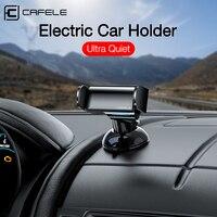 CAFELE-soporte para teléfono de coche, rejilla de ventilación automática inteligente con base de ventosa, salpicadero o parabrisas, montaje de teléfono de coche