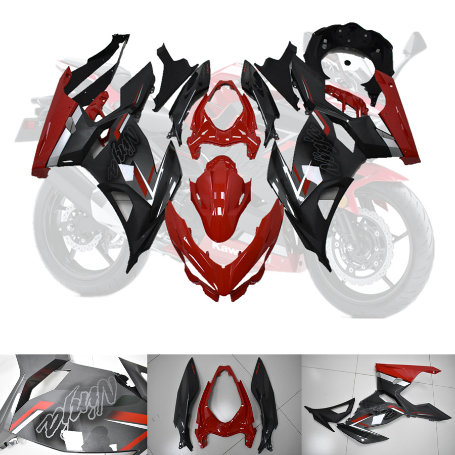 Best Deal╜Full-Fairings-Kit KAWASAKI NINJA Motorcycle Green for Bodywork Complete 400 18-19 20