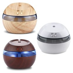 300ml zapachowy nawilżacz powietrza dyfuzor olejków eterycznych aromaterapia lampka nocna ultradźwiękowy klasyczny Mist Maker do użytku domowego w Nawilżacze powietrza od AGD na