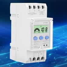 цена на 90-250V Automatic Switch Intelligent Light Control Induction Time Photo Control Switch Controller Digital Time Relay