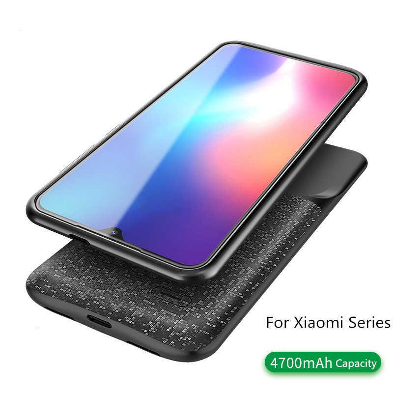 לxiaomi לערבב 2 סוללה מטען מקרה עבור Xiaomi Mi 8 9 SE לערבב 2 2s 6 6 10xbackup כוח בנק 5500mah חיצוני מטען כיסוי מקרה