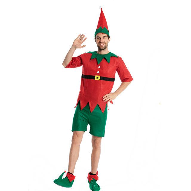Men's Christmas Elf Costume