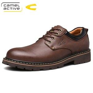 Image 5 - גמל פעיל חדש אנגליה אמיתי עור נעלי שרוכים גברים נעליים יומיומיות יד תפור עבה סולית גברים של נעלי נעלי גבר