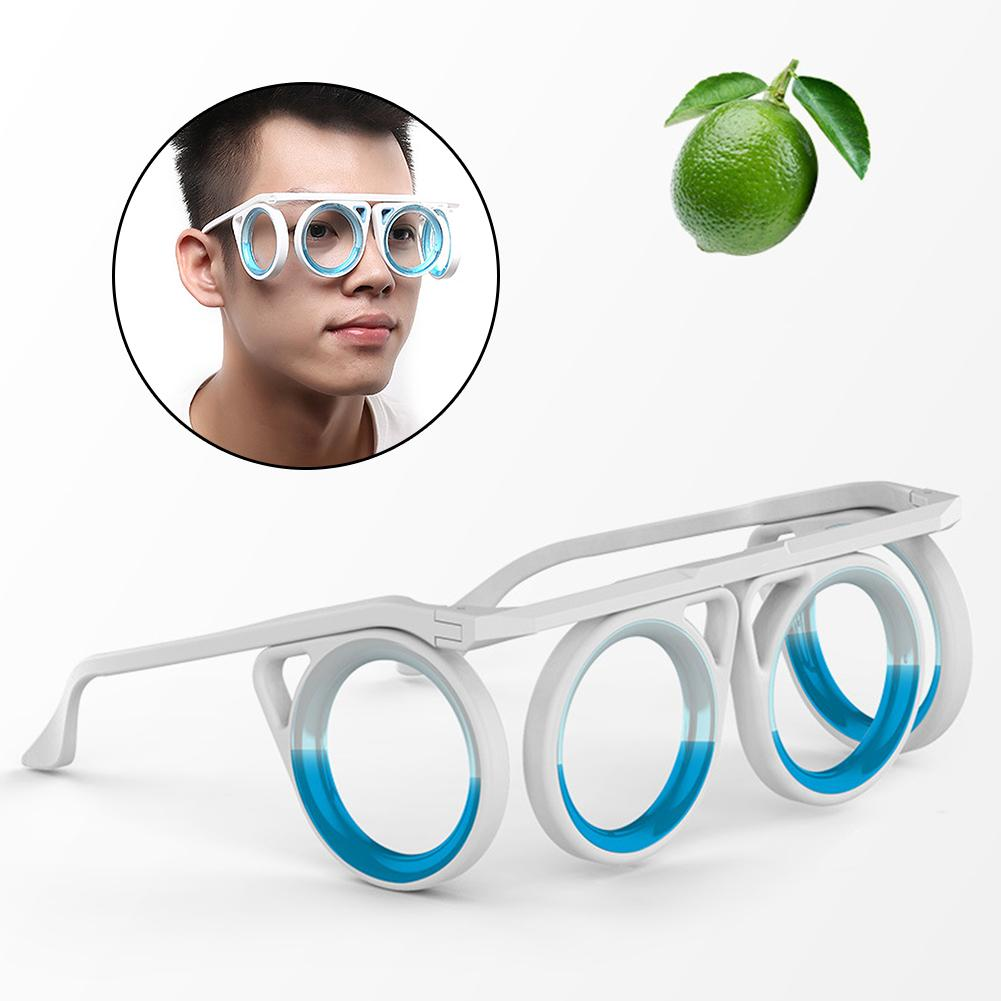 Children Adult Lightweight Travel Car Boat Anti Motion Sickness Foldable Glasses Anti-motion Sickness, Folding And Portable