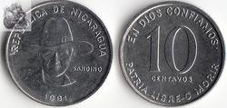 10 Centimes 1981 издание Америка монеты Оригинал редкая монета памятная серия 100% настоящая