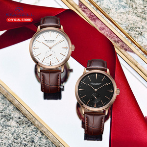 Image 3 - Seagull Business Watches Mens Mechanical Wristwatches 50m Waterproof Leather Valentine Male Watches 819.22.6075
