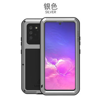 360 Full Protect For Samsung Galaxy S10 Lite Case Funda Silicone Shockproof For Samsung Note 10 Lite Cases S10Lite 2020 Cover - For Note10 Lite, Silver