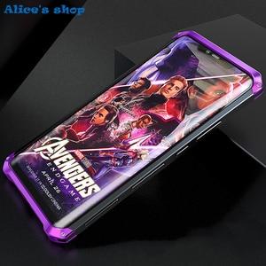 Image 2 - Aluminium Metal & Hybrid Pc Hard Volledige Bescherming Case Voor Huawei Mate 20/ Pro/ X 5G Luxe slim Shockproof Cover Case 20X 5G