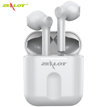 ZEALOT T2 TWS Mini Wireless Bluetooth 5.0 Earphone Stereo Earbud Headset With Charging Box Mic For All Smart Phone