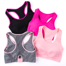 New Professional Absorb Sweat Top Athletic Running Sports Bra For Gym Fitness Wo