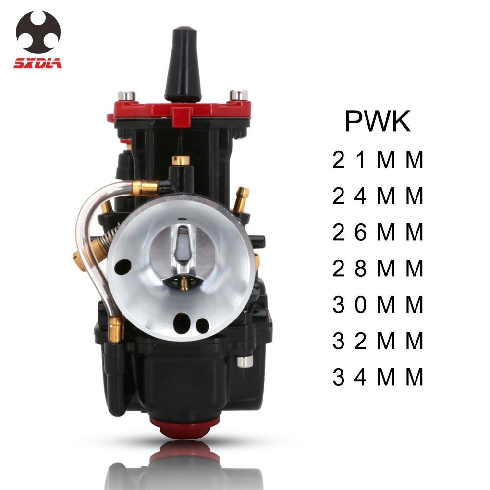 Motorcycle Scooter <font><b>PWK</b></font> 21 24 26 28 30 32 <font><b>34</b></font> MM <font><b>Carburetor</b></font> Carb For Keihin With Power Jet Racing Moto Dirt Bike Motocross image