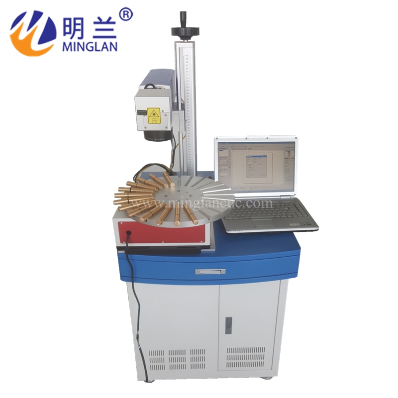 Mark Pen Fiber Laser Marking Machine With Conveyor Belt Used On Engraving Pen Free Shipping